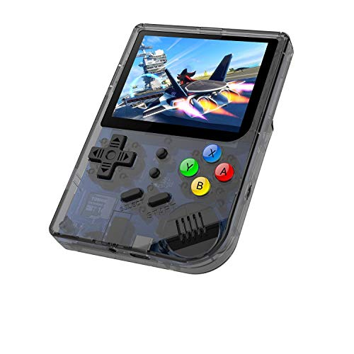 BAORUITENG 2019 Upgraded Opening Linux Tony System Handheld Game Console , Retro Game Console Built in 3007 Classic Games, Portable Video Game Console of 3 Inch IPS Full View Screen Screen