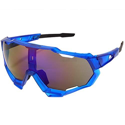 Occhiali da Sole da Uomo Occhiali Sportivi Occhiali Occhiali da Sole Uv400 Occhiali da Ciclismo Sport Cool Mountain Bike Occhiali da Sole da Ciclismo Occhiali Sportivi Stile2