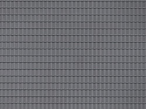 Auhagen 52426Dachziegel dunkelgrau Single Modellier-Kit
