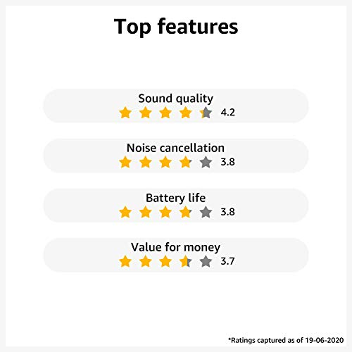 OPPO Enco M31 Wireless Bluetooth in Ear Neckband Earphones with Mic, Support AI-Powered Noise Reduction During Calls,IPX5 Water Resistant,Supports Android (Black)