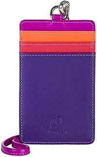 mywalit Unisex Lanyard Style Cc Holder Purple
