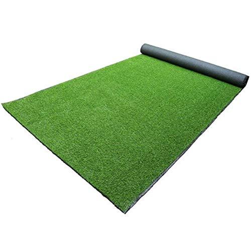 Faux artificielle Herbe, Pelouse synthétique de 20 mm Pile Hauteur, haute densité Fausse Gazons for les chiens animaux, Intérieur Paysage extérieur (2mx25m) (Taille : 300cm*200cm)