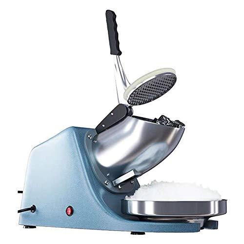 FSGD Trituradora Picadora de Hielo Eléctrico Ice Crusher con Doble Cuchilla y...