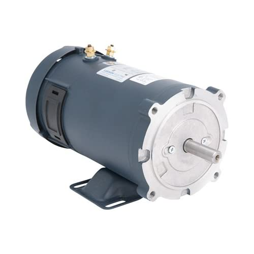 Electric generator motor Diagram Leeson 12 Volt Dc Motor 34 Hp 1750 Rpm Model Ebay Generator Motor Amazoncom