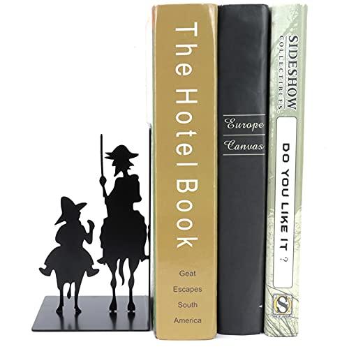 Boekensteun, duurzame ruimtebesparende boekenhouder met schuimkussen voor school voor thuis voor op kantoor(Knight book stand)