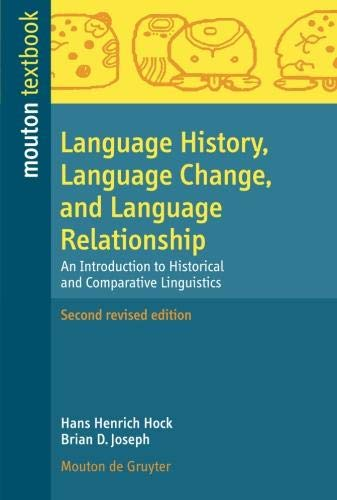 Language History, Language Change, and Language...