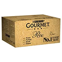 Contains variety of recipes in jelly with turkey, trout, duck and game 100 Percent complete and balanced nutrition for adult cats Variety of recipes with high quality ingredients, gently cooked and served in jelly Served in 85 g pouches to keep every...