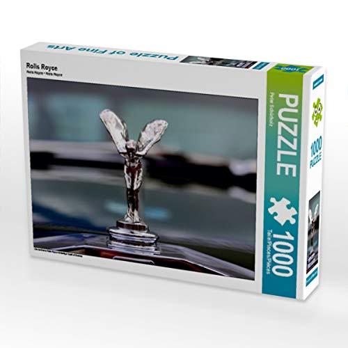 CALVENDO Puzzle Rolls Royce 1000 Teile Lege-Größe 64 x 48 cm Foto-Puzzle Bild von Peter Schürholz