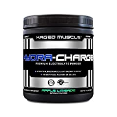 HYDRATE FOR WORKOUTS – KAGED MUSCLE Hydra-Charge is the ultimate electrolyte matrix designed to give you a boost before, during, or after workouts.* MICRONUTRIENT DELIVERY – Each serving provides you with calcium, phosphorus, magnesium, sodium, and p...