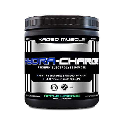 Kaged Muscle Hydra Charge Premium Electrolyte Hydrate Faster, Apple Limeade