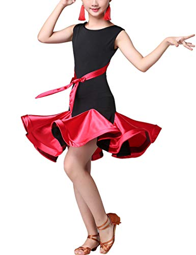 Lateinkleid Tanz Kleider Mode Dancewear - Rumba Tango Salsa Performance Kleidung Ballsaal Kostüm Party Karneval Prinzessin Rock Kleid Dress
