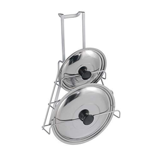 Metaltex Colgador TAPADERAS 'Galileo', Gris Metalizado, Centimeters