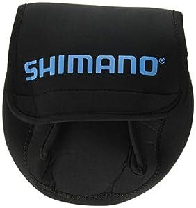 Shimano Neoprene Reel Cover; Medium; Black