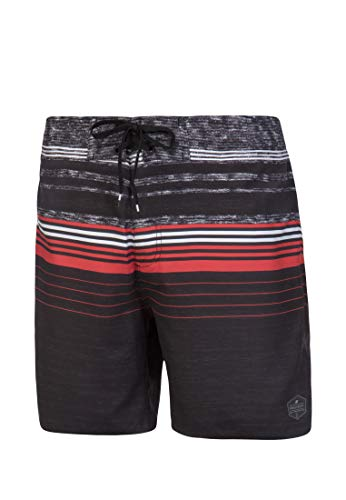 Protest Powell 19 Herren Badehose, True Black, L