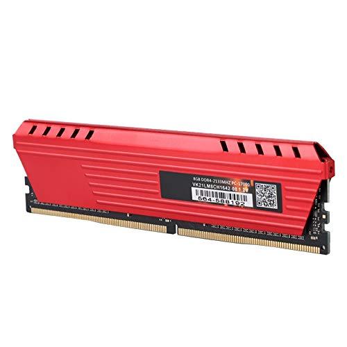 Memoria desktop da 8 GB, modulo RAM di memoria desktop Bewinner DDR4 2133MHz 8G, plug and play, eccellente compatibilità, con guscio di dissipazione del calore