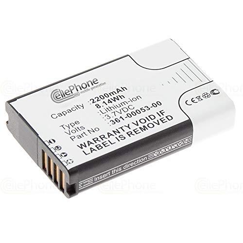 cellePhone batería Li-Ion para Garmin Alpha 100 Handheld/Montana 600 650 (reemplazado 361-00053-00)