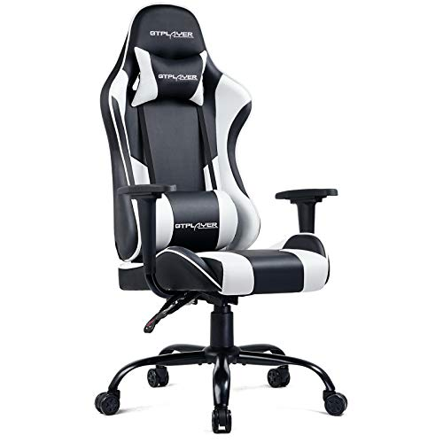 GTPLAYER Gaming Chair Office Desk Chair Swivel Heavy Duty Chair Ergonomic...
