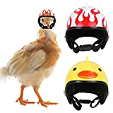Casco De Gallina Casco De Pollo Casco para Mascotas Pollo Casco para Mascotas Casco Divertido para Mascotas Sombrero De Pájaro De Pollo Casco para Mascotas Disfraces para Gallinas De Pollo