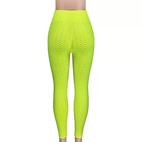 Dames oga Broek Wit Sport Leggings Push-up Panty Gym Oefening Hoge taille Fitness Running Atletische broek