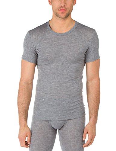 Calida Wol & Silk T-shirt voor heren, functioneel ondergoed van scheerwol en zijde