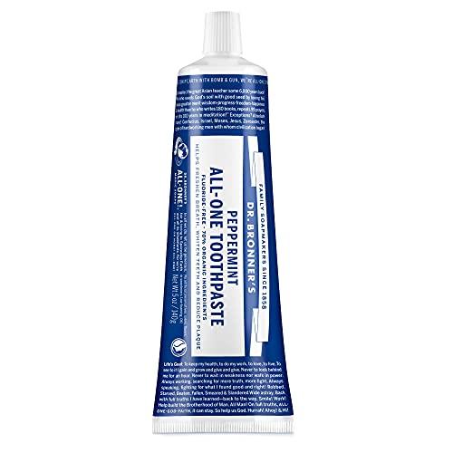 ドクターブロナー オールワントゥースペースト PE(ペパーミント) 歯磨き粉
