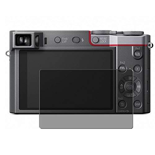 Vaxson TPU Pellicola Privacy, compatibile con PANASONIC LUMIX TZ100 LX100, Screen Protector Film Filtro Privacy [ Non Vetro Temperato ]