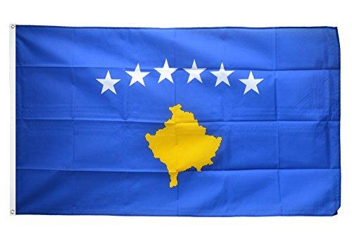 Flaggenfritze Fahne/Flagge Kosovo + gratis Sticker