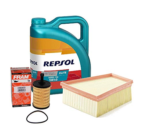 Fram Pack Repsol Elite TDI 5w40 505 01 + Filtro Aceite y...