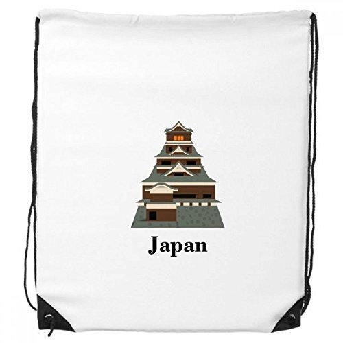 DIYthinker Traditioanal Japanische Kyoto Palace-Rucksack Einkauf Gift Sporttaschen