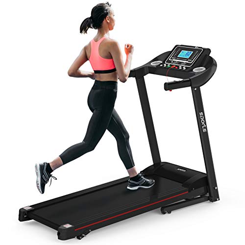 HYLINCO Folding Treadmill with Incline, Electric Treadmill Machine for Running Walking, Foldable Portable Treadmills for Home Workout