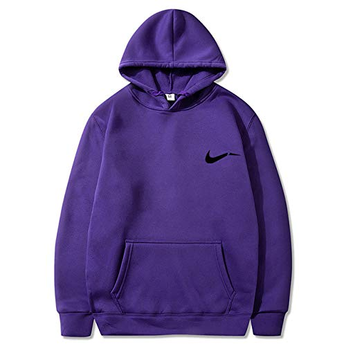 HNOSD 2019 Hoodie Streetwear Hip Hop Schwarz Grau Hoody Herren Print Hoodies Und Sweatshirts Größe Lila 13 XXL