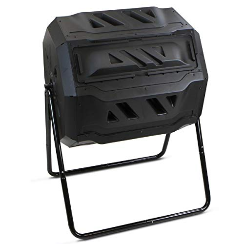 Affordable AVGDeals Composter Tumbler Yard Garden Waste Bin Grass Food Trash Fertilizer Lawn Leaves ...