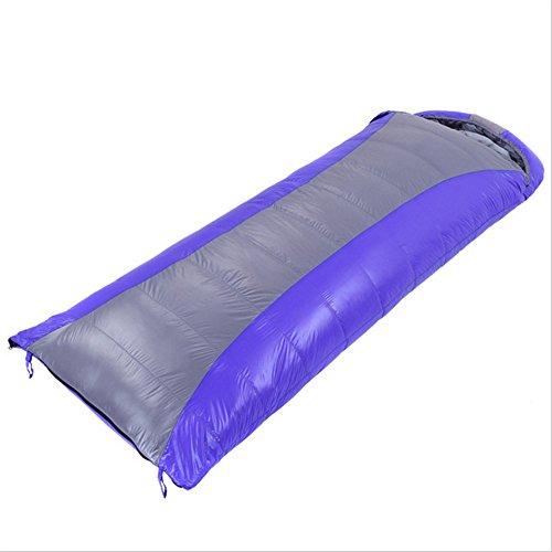 Song6 Strandzelt Outdoor Warm Winter Camping Ultraleicht Einzelschlafsack Camel Envelope Daunenschlafsack Camping Zelt (Color : Blue)