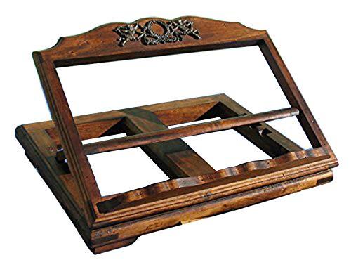 atril de madera antiguo