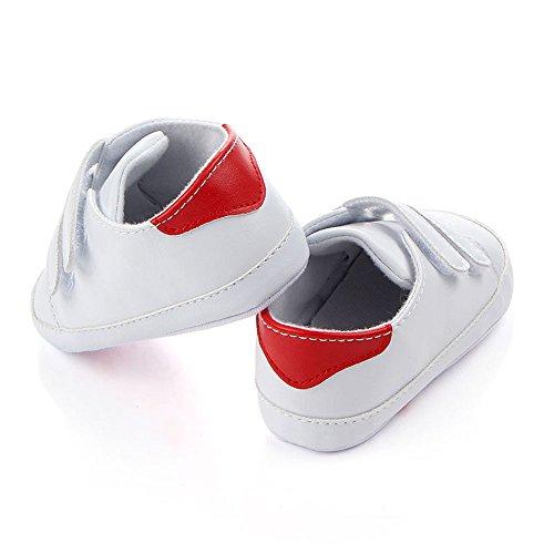 Nyuiuo Bebé Niño Bebé Niño Niña Zapatos De Cuna De Suela Blanda Zapatilla De Deporte Recién Nacido Zapatos De con Fondo Suave para Bebés Zapatos De Lona Antideslizantes Zapatos Deportivos Casuales