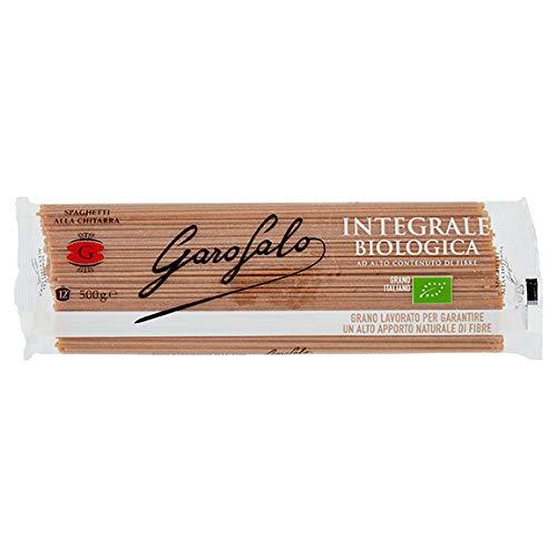 GAROFALO - Spaghetti Chitarra Integrale Biologico 1 x 500 Grammi