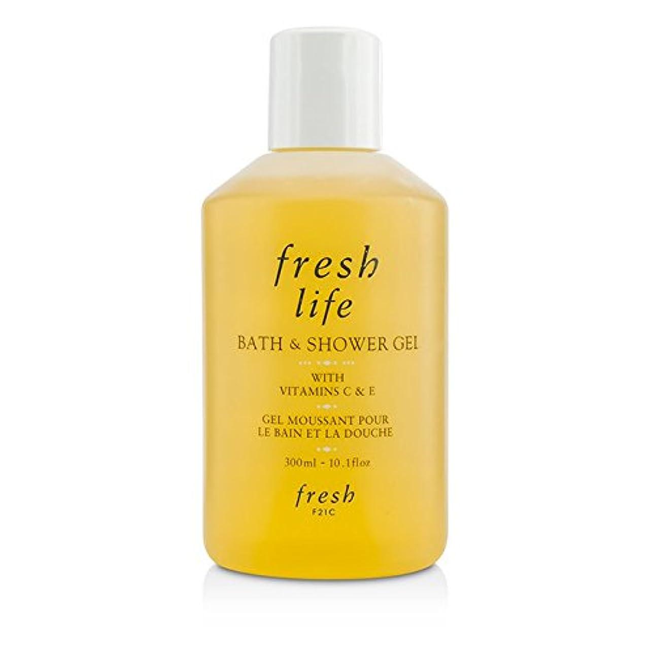 教師の日頼むフェードアウトフレッシュ Fresh Life Bath & Shower Gel 300ml/10.1oz並行輸入品