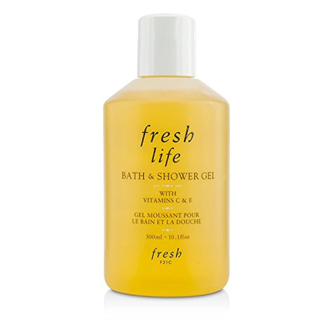 聴衆フレキシブルギャングフレッシュ Fresh Life Bath & Shower Gel 300ml/10.1oz並行輸入品