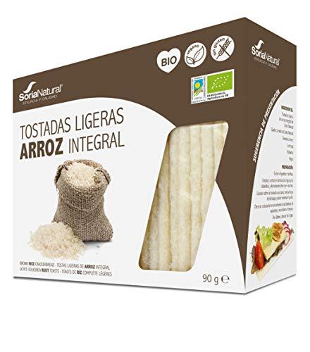 TOSTADAS LIGERAS ARROZ S/G BIO
