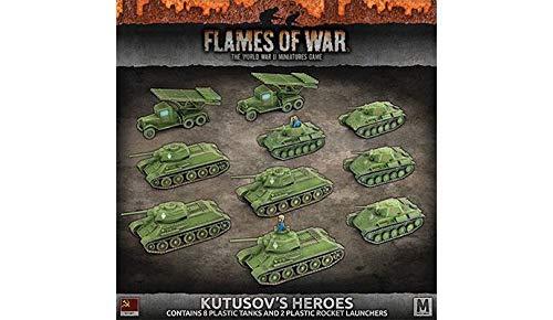 Flames of War: Mid War: Soviet: Kutusov's Heroes Army Box (SUAB10)