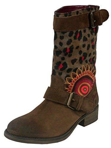 Desigual Damen Designer Schuhe Biker Boots - Biker Two -36