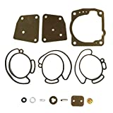 Johnson Evinrude Carburetor Rebuild Kit FITS MANY V4 V6 90 Deg 435442 436852 438996 18-7247 (See Ad For Exact HP & Year Fit BEFORE Buying)