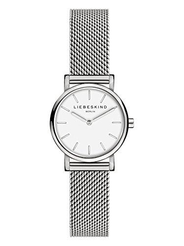LIEBESKIND BERLIN Damen Analog Quarz Armbanduhr mit Edelstahl Armband