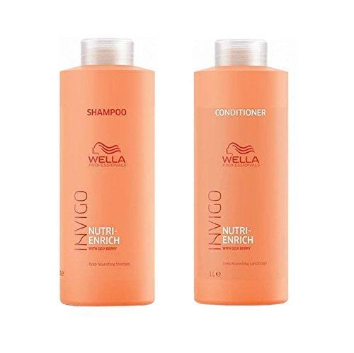 Wella INVIGO nutri-enrich Deep Nourishing Shampoo 1000 ml und Conditioner 1000 ml