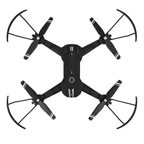 JYLSYMJa H168 Mini Drones Plegables para niños, 13 Minutos de Tiempo de Vuelo, Drone con Control Remoto con cámara 4K, Giroscopio de 6 Ejes, Lente Dual, Control de teléfono WiFi