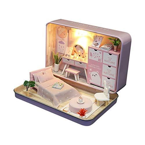 Tianya Diy Dollhouse Miniatura 3D Doll House Kit Caja Teatro Niños Juguete Regalo Decoración Para El Hogar