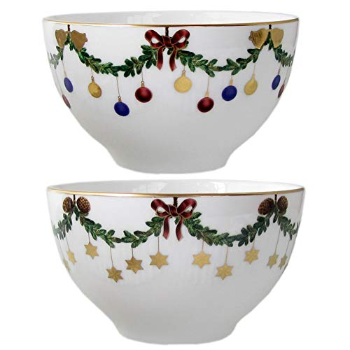 Royal Copenhagen 1017437 Star Fluted Bonbonnière en porcelaine