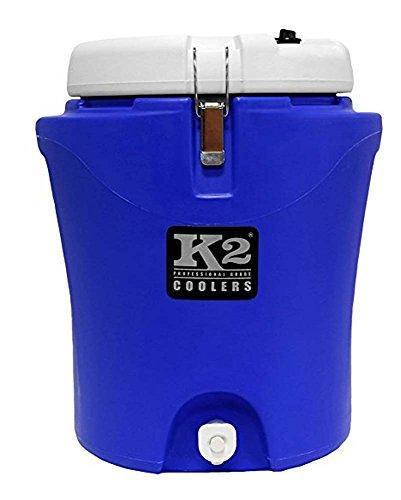 K2 Coolers Wasserkrug, Blau/Weiß, 1,8 l