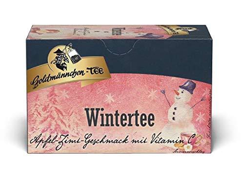 Wintertee (Apfel-Zimt-Vitamin C) Tee von Goldmännchen 3x 20 Beutel