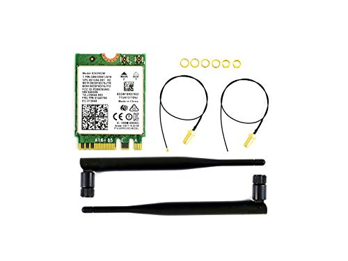 Waveshare AC8265 Wireless NIC Applicable for Jetson Nano 24G 5G WiFi Bluetooth 42 Dual Mode Module